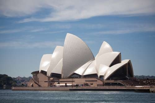Sydney Opera House And Harbor Photo