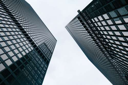 Tall Business Towers Photo