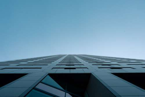 Tall Windowed Mid Rise Building Photo