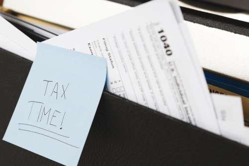Tax Time Reminder Photo