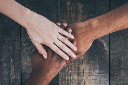 Team Hands In Photo