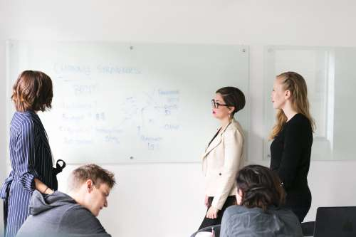 Team Whiteboard Brainstorm Photo