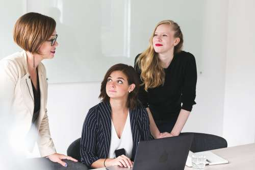 Three Business Women Photo