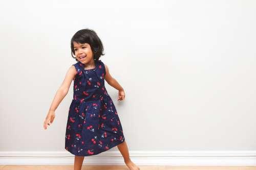 Toddler Cherry Dress Photo