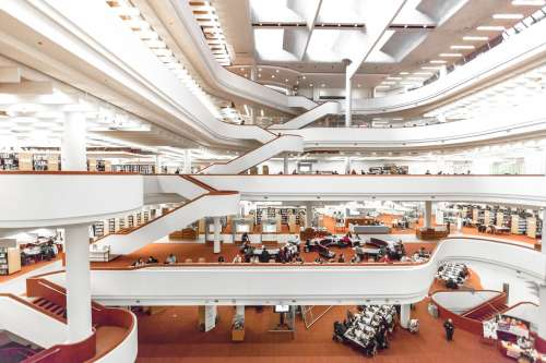 Toronto Library Photo