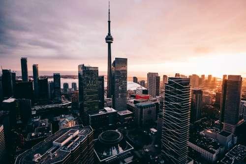 Toronto Stunning Sunset Photo