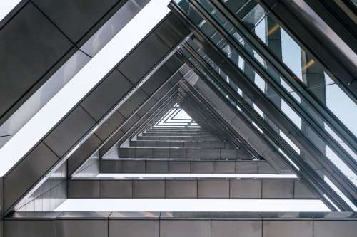 Triangle Shaped Architecture Photo