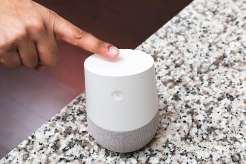 Turning Smart Home Device On Photo