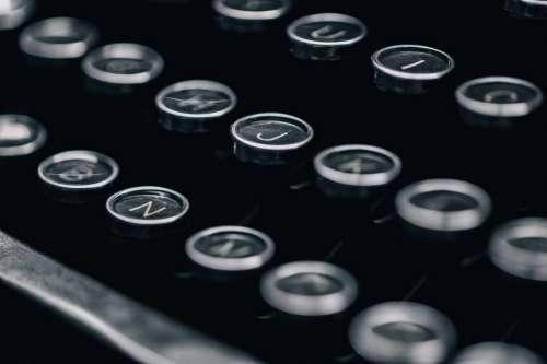 Typewriter Close Up Photo
