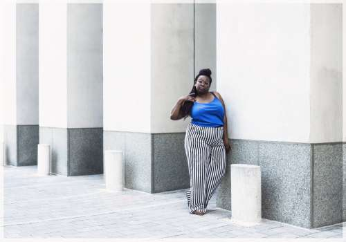Urban Women's Summer Fashion Model Photo