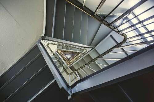 Vertigo Triangular Staircase Photo