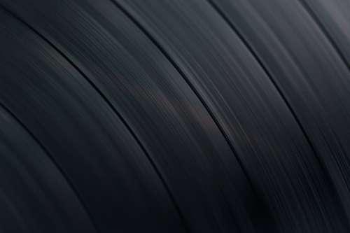 Vinyl Record Spinning Photo