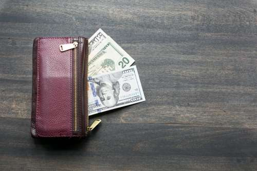 Wallet & Cash Photo