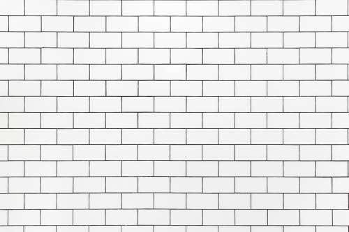 White Bathroom Tile Texture Photo