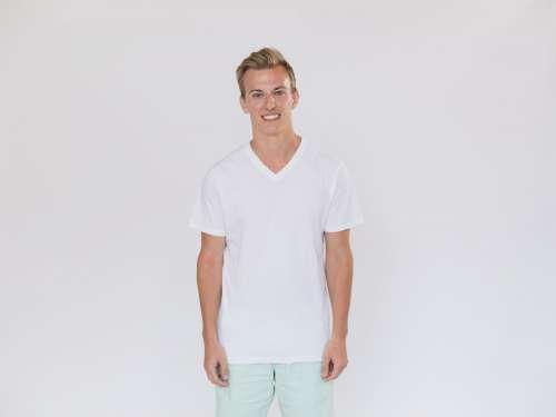 White Tshirt Template Photo
