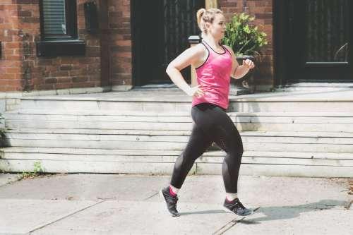 Woman Jogging Photo