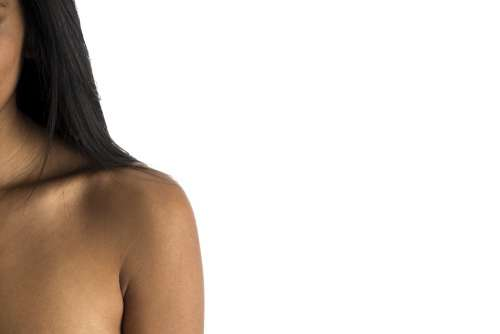 Womans Shoulder Side Photo
