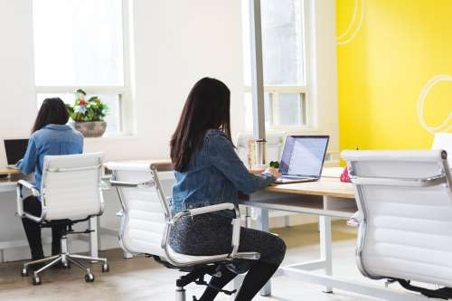 Women Work Office Photo