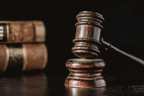 Wooden Judge Gavel Photo