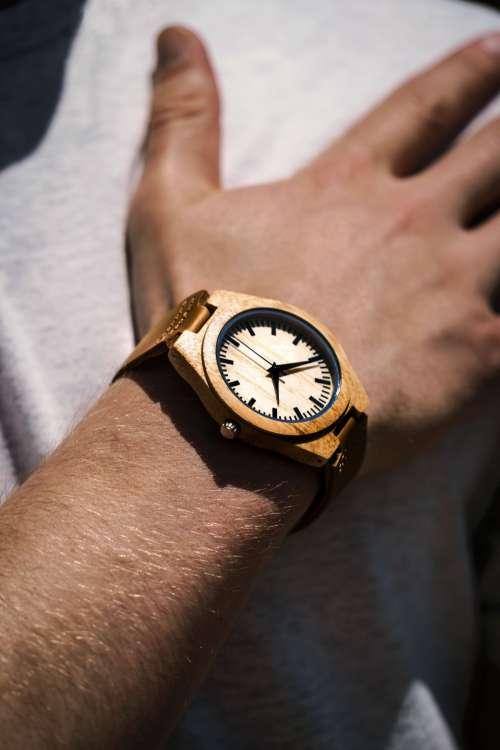 Wooden Watch Photo