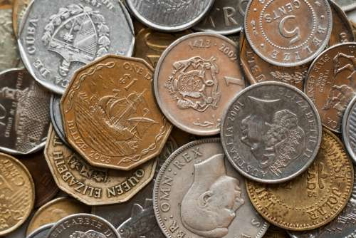 World Coins Photo