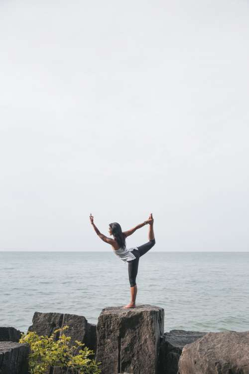 Yoga In Nature Photo