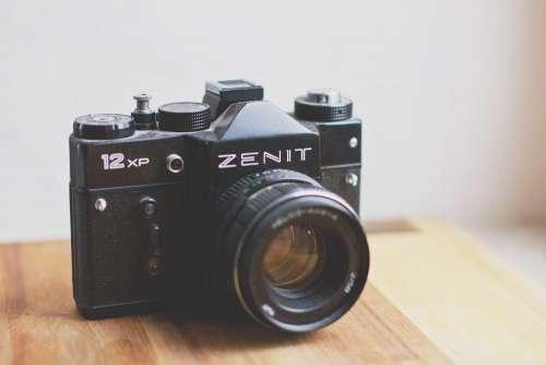 Analog Zenit camera