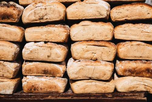Bread display at the Saint Dominic's Fair 2