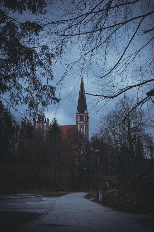 Catholic church in Olsztyn