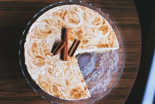 Cinnamon cheesecake 2