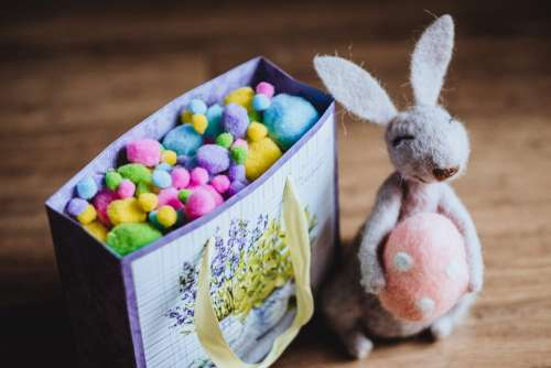 Easter bunny gift