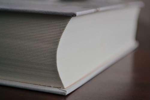 Fat book closeup