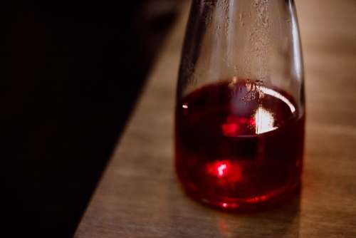 Fruit tea in a glass tea pot 5