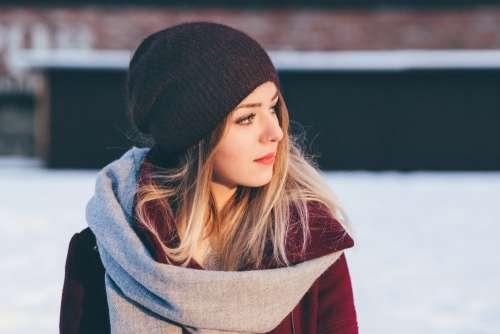Girl winter portrait
