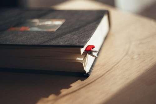 Heart clip bookmark
