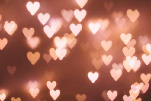 Heart shaped bokeh 5