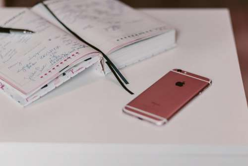 iPhone and planner 3