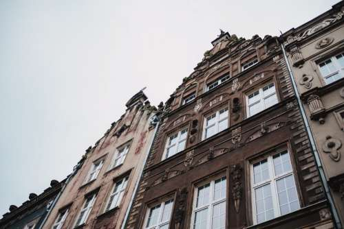 Old town buildings in Gdansk