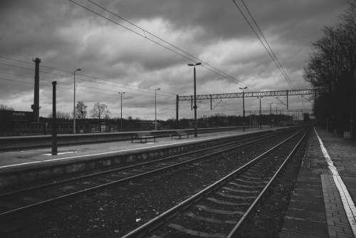 Railway station in Olsztyn