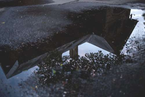 Reflection in the puddle 2