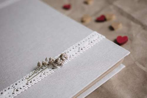 Rustic linen photo album 2