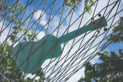 Ukulele on a hammock 3