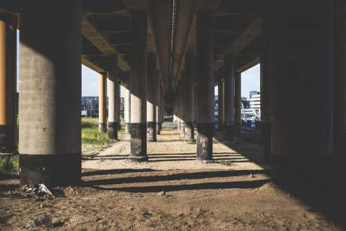 Under the overpass 4