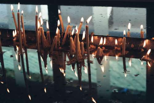 Votive candles 4