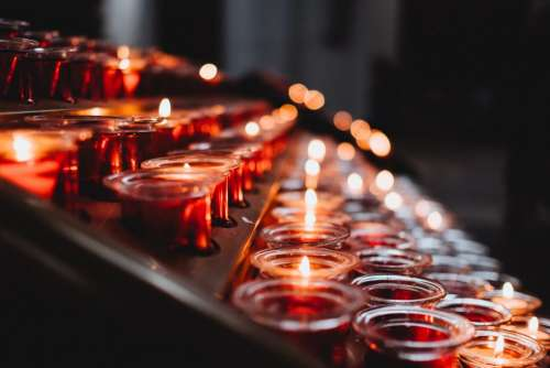 Votive candles 5