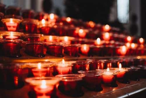Votive candles 7