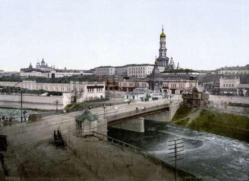 19th-century view of Kharkiv, Ukraine free photo