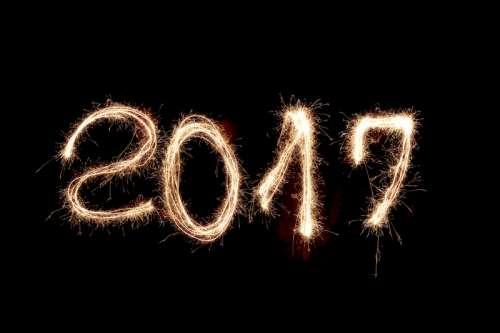 2017 New Year's Celebration sparklers free photo