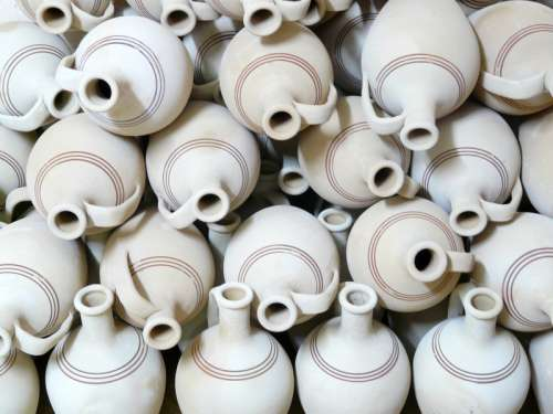 A bunch of Teapots free photo