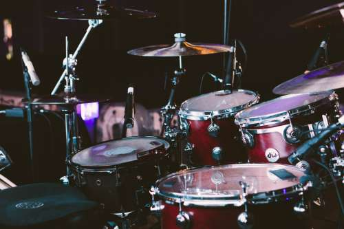 A drumset instruments free photo